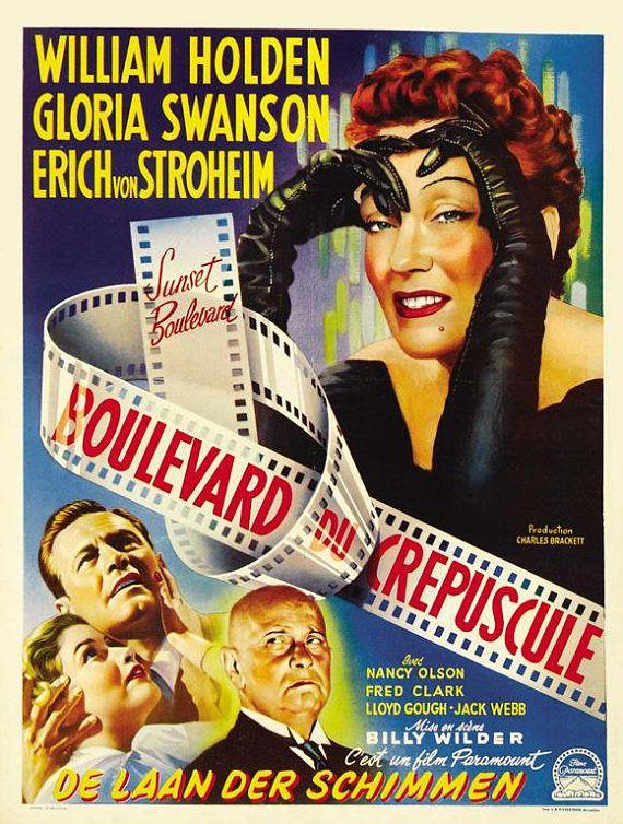 Sunset Boulevard (1950) 11 x 17 movie poster Billy Wilder