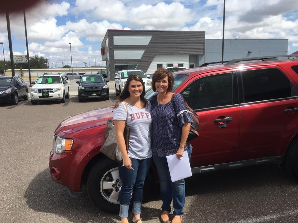 Join us in congratulating Rhonda on her new 2012 Ford Escape from EZ Auto!