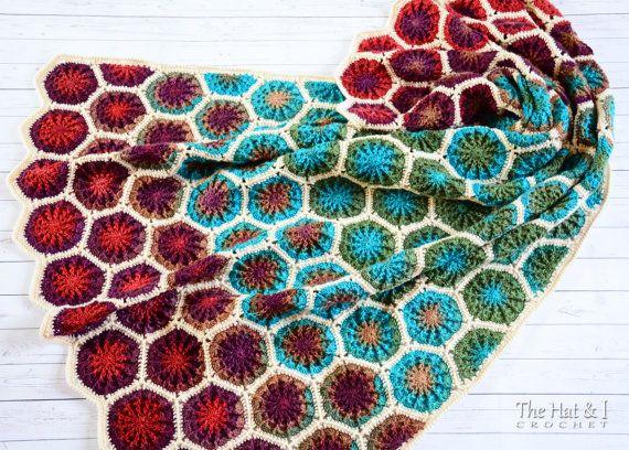 CROCHET PATTERN The Dreamer a crochet afghan pattern