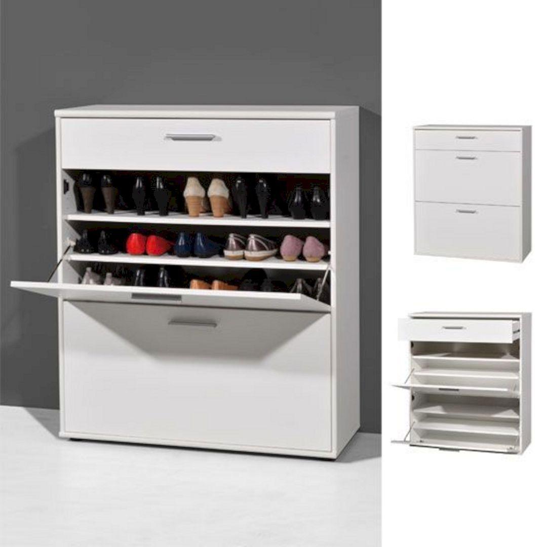 30 DIY Shoe Storage Solutions For Your Home / FresHOUZ.com #storagesolutions