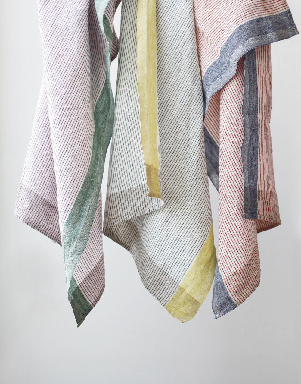Linen kitchen towels - Delfi