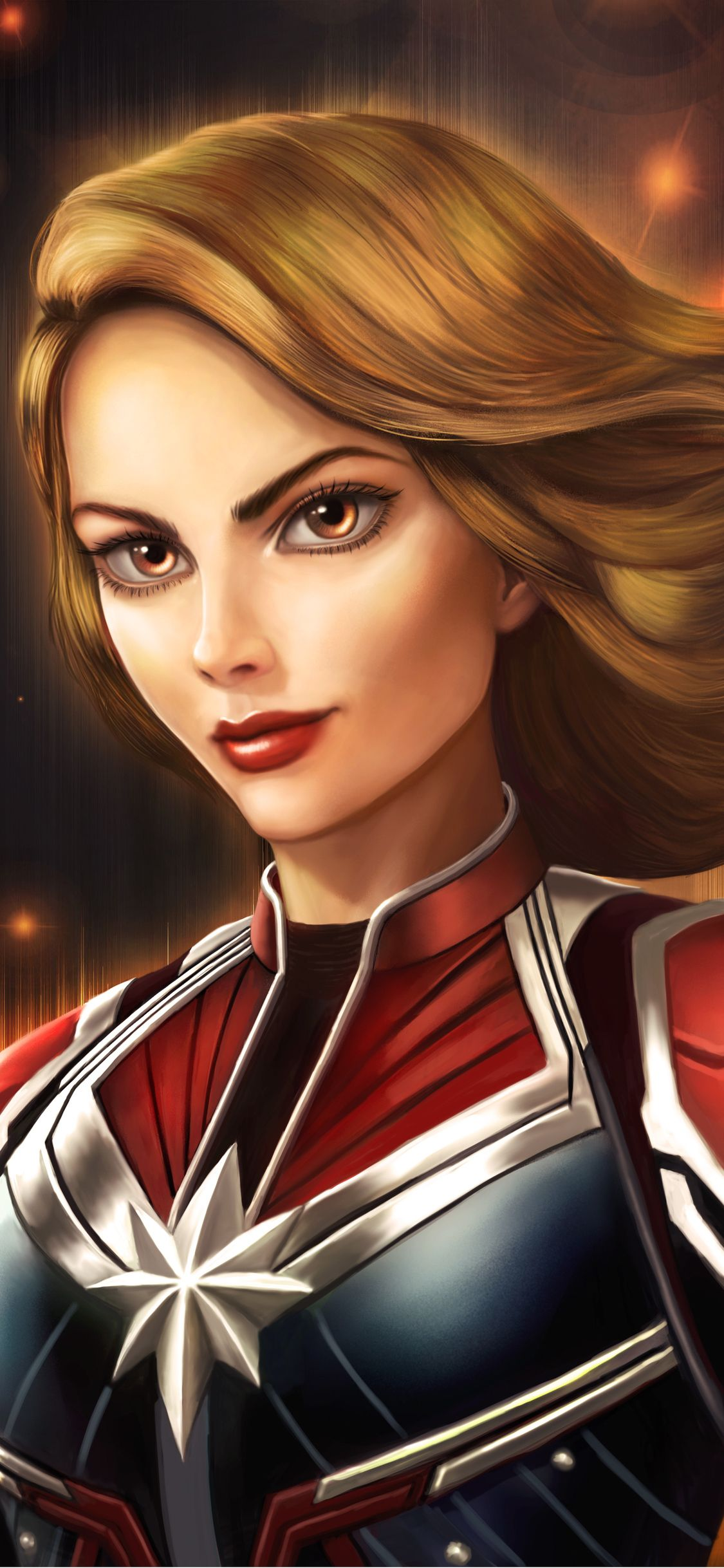 1125x2436 Captain Marvel New Art Iphone Xs Iphone 10 Iphone X Hd 4k Wallpapers Images Backgrounds Photos Captain Marvel Marvel Captain Marvel Carol Danvers