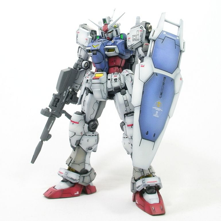GUNDAM GUY: RG 1/144 GP01 Gundam 'Zephyranthes' - Painted Build