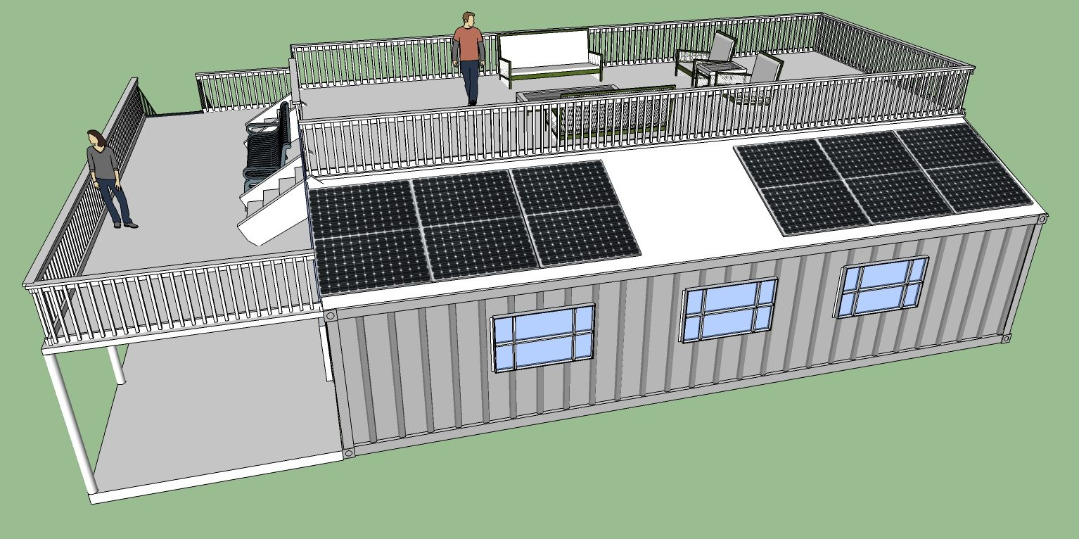 Off grid living shipping container home plans - Shipping container home designers ...