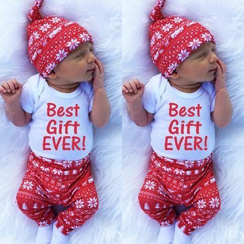 Weihnachten Kleidung Baby
