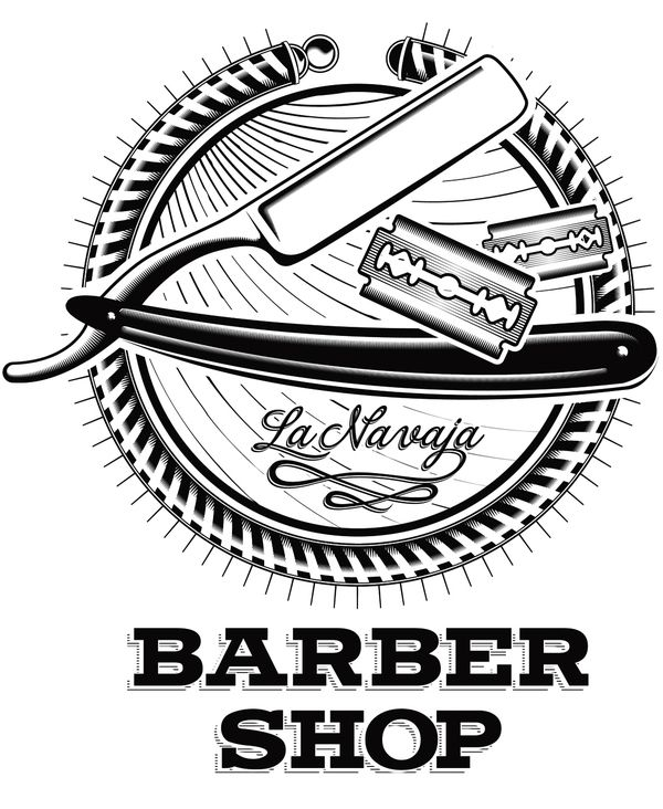 Weekly Vector Inspiration 141 Vectips Barber Tattoo Barber Shop Barber