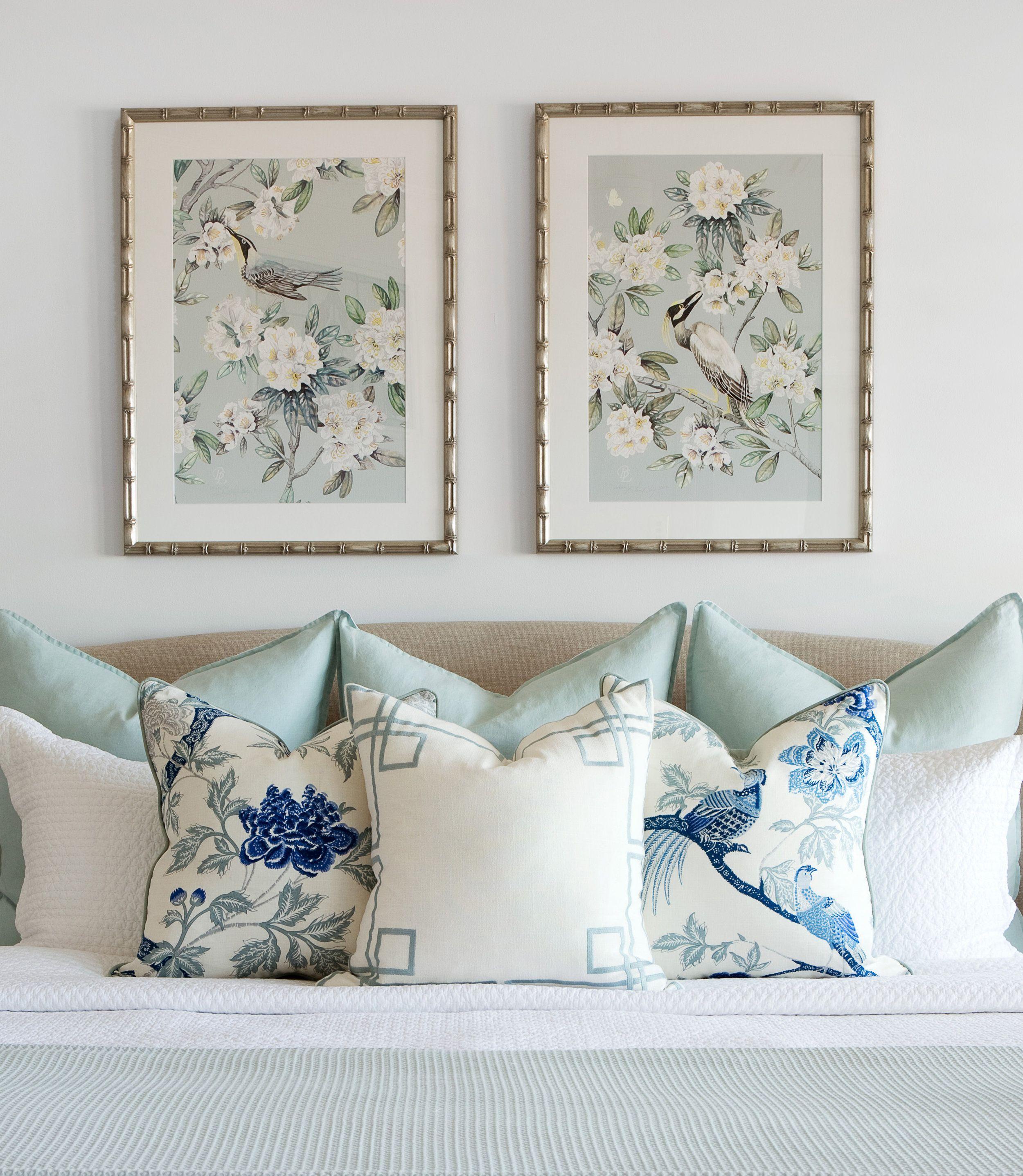 Hamptons Inspired Luxury Home Master Bedroom Robeson: Gold Coast I — Mayflower House
