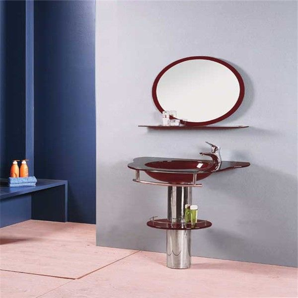 Competitive price color painting mirrored modern wash basin ...