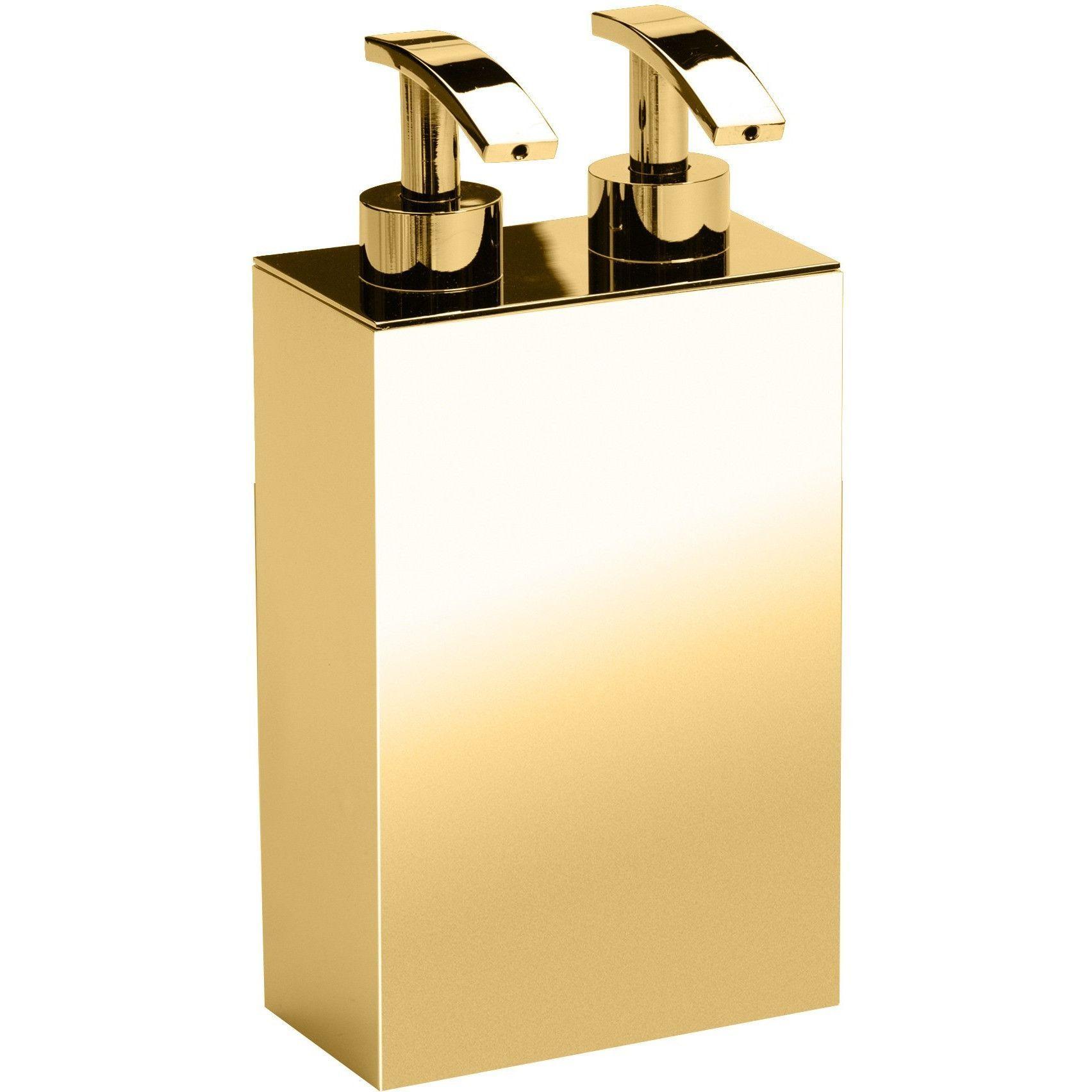 BoxMetal Double Pump Liquid Soap Lotion Dispenser for Bathroom ...