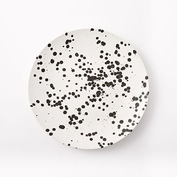 west elm Spotted Dinner Plates (Set of 4) - Black/White | Dinner plate sets Stoneware and Dinnerware  sc 1 st  Pinterest & west elm Spotted Dinner Plates (Set of 4) - Black/White | Dinner ...