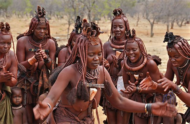 Image result for OvaHimba locks