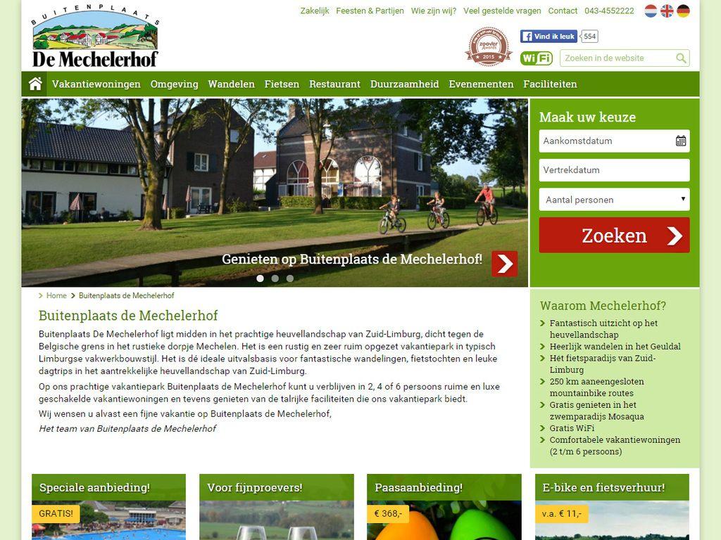 Buitenplaats De Mechelerhof ligt midden in het prachtige heuvellandschap van Zuid-Limburg, dicht tegen de Belgische grens in het rustieke dorpje Mechelen. - www.mechelerhof.nl