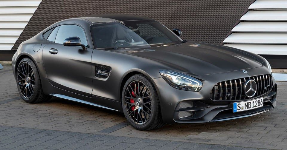 New Mercedes-AMG GT C Gets A Stealthy 'Edition 50' Variant In Detroit #AMG #Detroit_Auto_Show