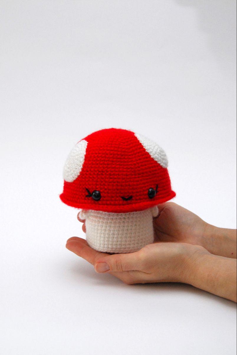 i <3 mushrooms | Crochet patterns amigurumi, Crochet amigurumi ... | 1200x804