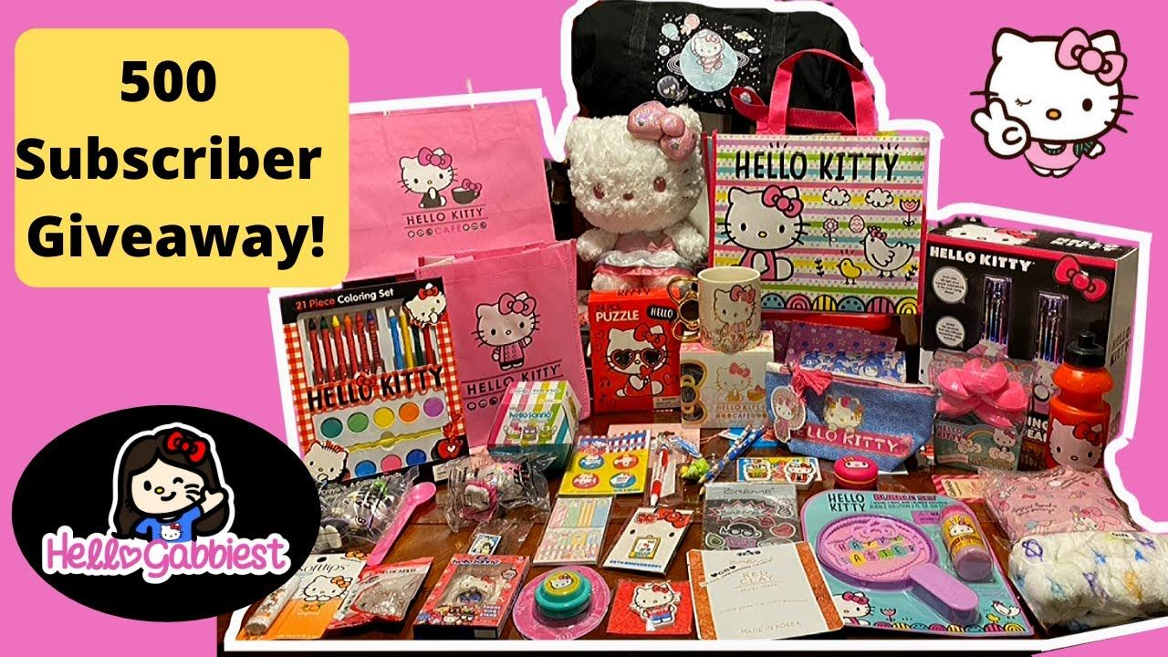 500 Subscriber Giveaway Youtube Kitty Cafe Cat Valentine Giveaway