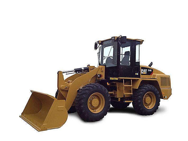 Cat Wheel Tractor : Cat g wheel loader caterpillar loaders