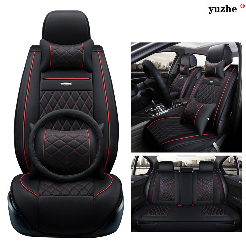 Yuzhe Leather Car Seat Cover For Ssangyong Rodius Actyon Rexton Korando Tivolan Xlv Car Accessories Styling Cu Leather Car Seat Covers Car Seats Car Upholstery