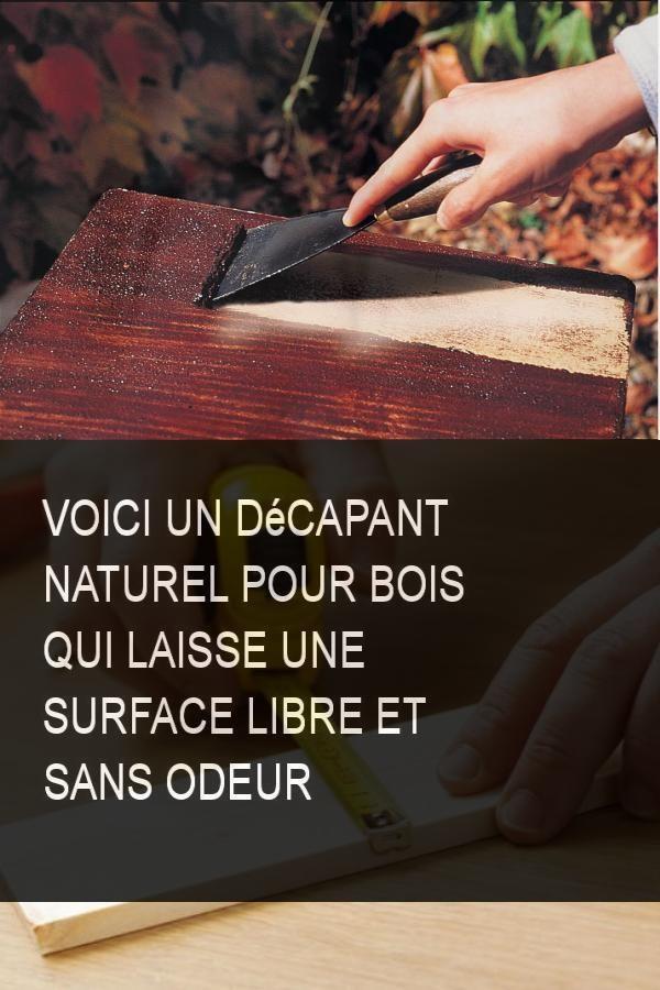 voici un d capant naturel pour bois qui laisse une surface. Black Bedroom Furniture Sets. Home Design Ideas
