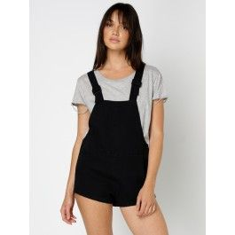 Abrand PLAYSUIT OVERDYED BLACK