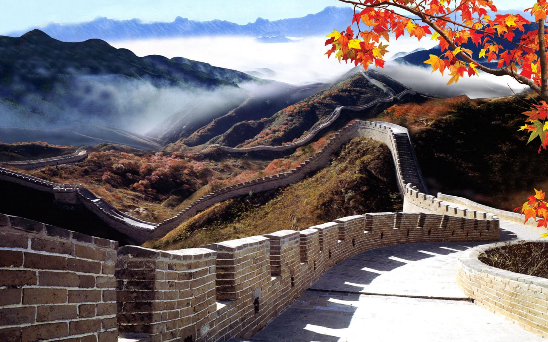 Chinese Scenery Realistic Wallpaper That Looks