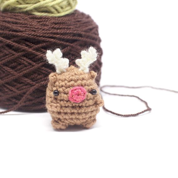 crochet Christmas pattern set mini amigurumi por mohustore en Etsy ...