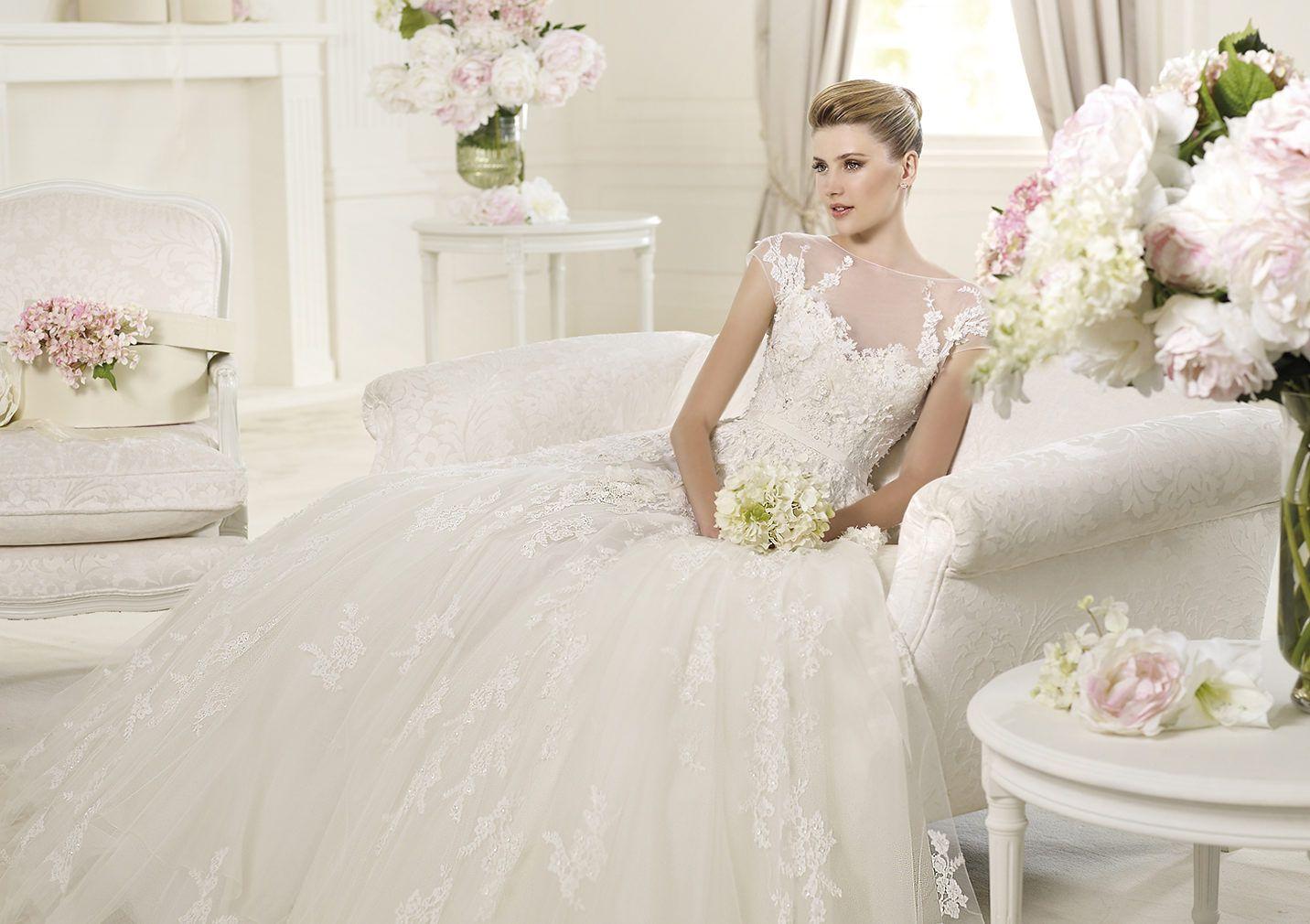 Pronovias presents the monceau wedding dress elie by elie saab