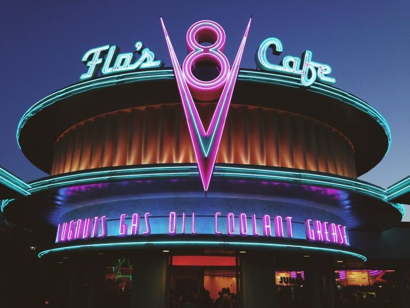 c/o hurrydowns Neon sign art, Neon signs, Disney photography