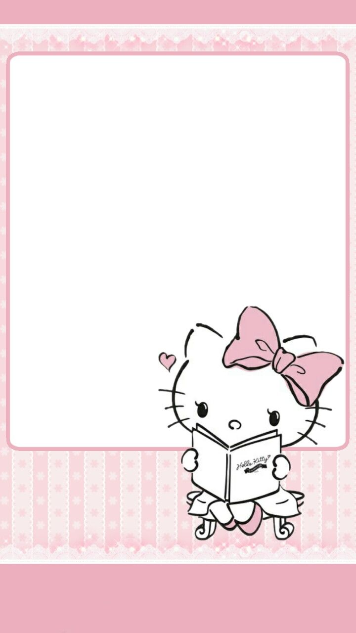 Pin By Snow On Hello Kitty Wallpaper Pinterest