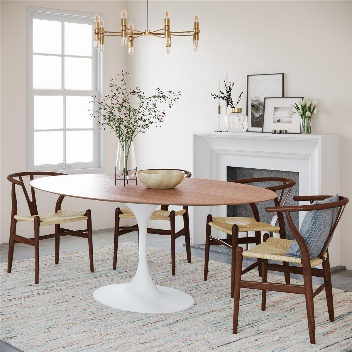 Saarinen Tulip Oval Dining Table Oval Table Dining Saarinen Oval Dining Table Dining Table In Kitchen