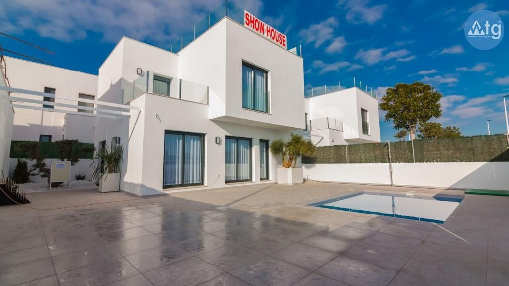Villa In San Pedro Del Pinatar 3 Schlafzimmer Style At Home Villa Solarium