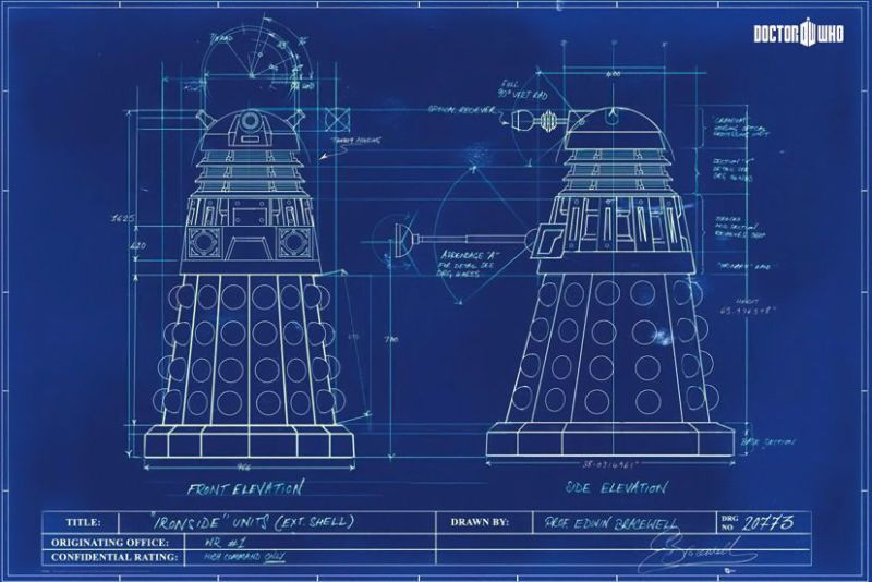 These Blueprints Expose The Innards Of Your Favorite Fictional - copy blueprint editing app