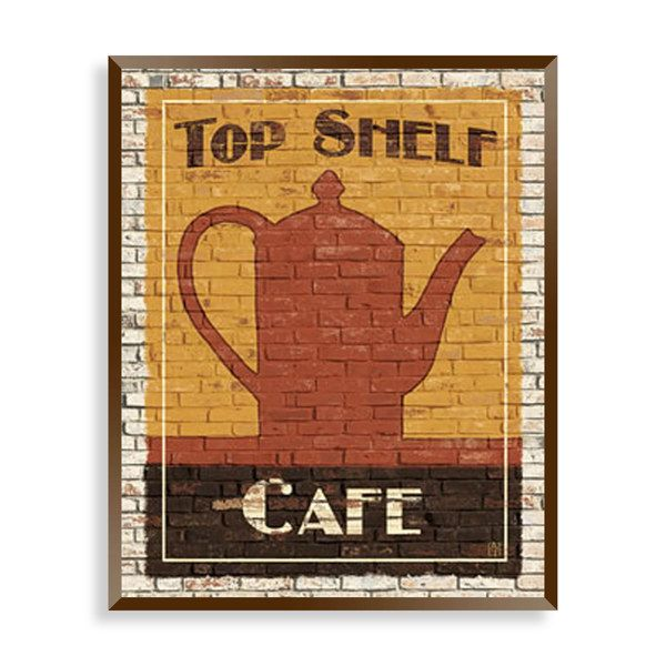 Top Shelf Coffee I Wall Art Bed Bath Beyond For The Kitchen 19 99 Canvas Print Wall Cafe Wall Art Wall Art Prints