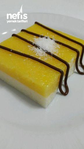 Portakallı Vanilyalı İrmik Tatlısı #vanillayogurt