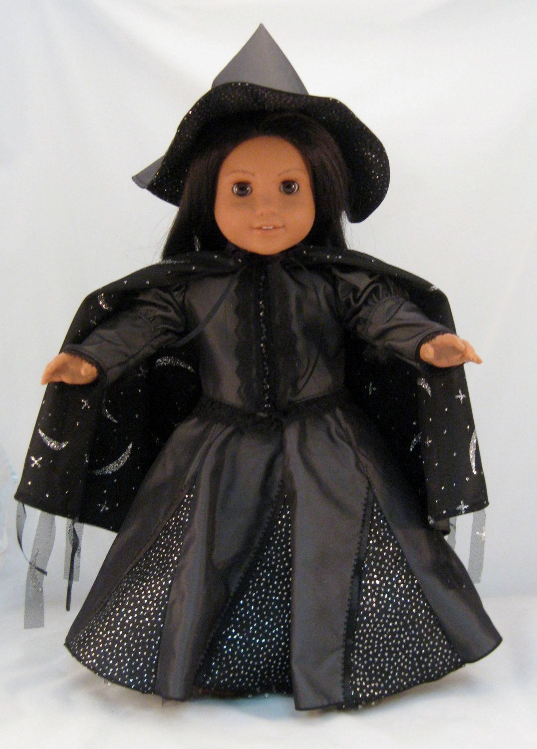 Wizard of Oz Elphaba Wicked Witch Dress fits American Girl or ...