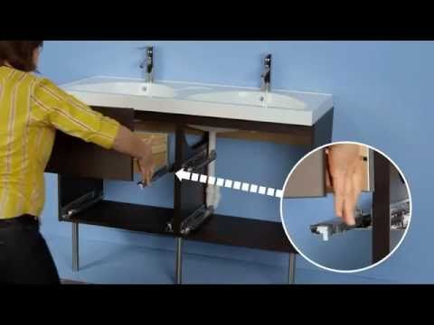 Ikea Godmorgon Double Sink Installation Instructions Youtube