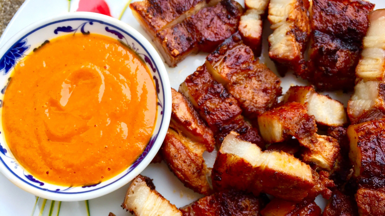 Bbq Pork Belly - Nepali Style  Nepalese Cuisine  Pork -8105