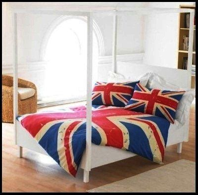 Union Jack Themed Bedroom!
