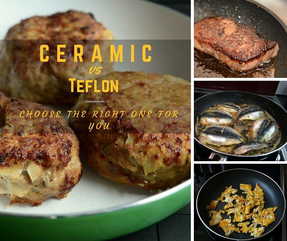 Ceramic Vs Teflon Non Stick Cookware Choose The Right One Ceramic Dutch Oven Ceramic Cookware Cookware And Bakeware