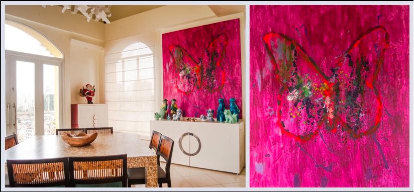 MARISABEL BAZAN ART WORK PUGS 59x69 MIX MEDIA ON CANVAS   My Work ...