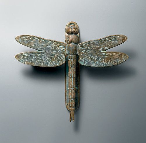 Delightful Dragonfly Door Knocker   Eclectic   Outdoor Decor   Restoration Hardware