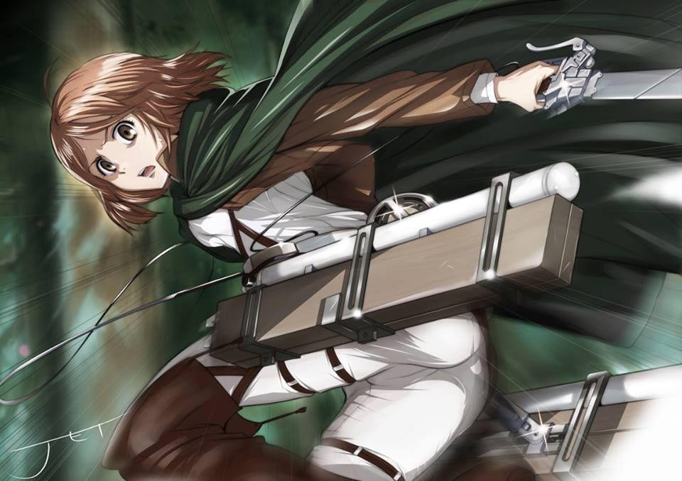 Petra Rall Attack On Titan Anime Attack On Titan Anime