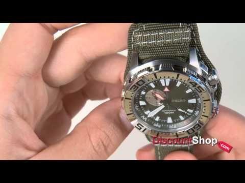 Seiko Superior Automatic SSA055J1 - review by DiscountShop.com - YouTube