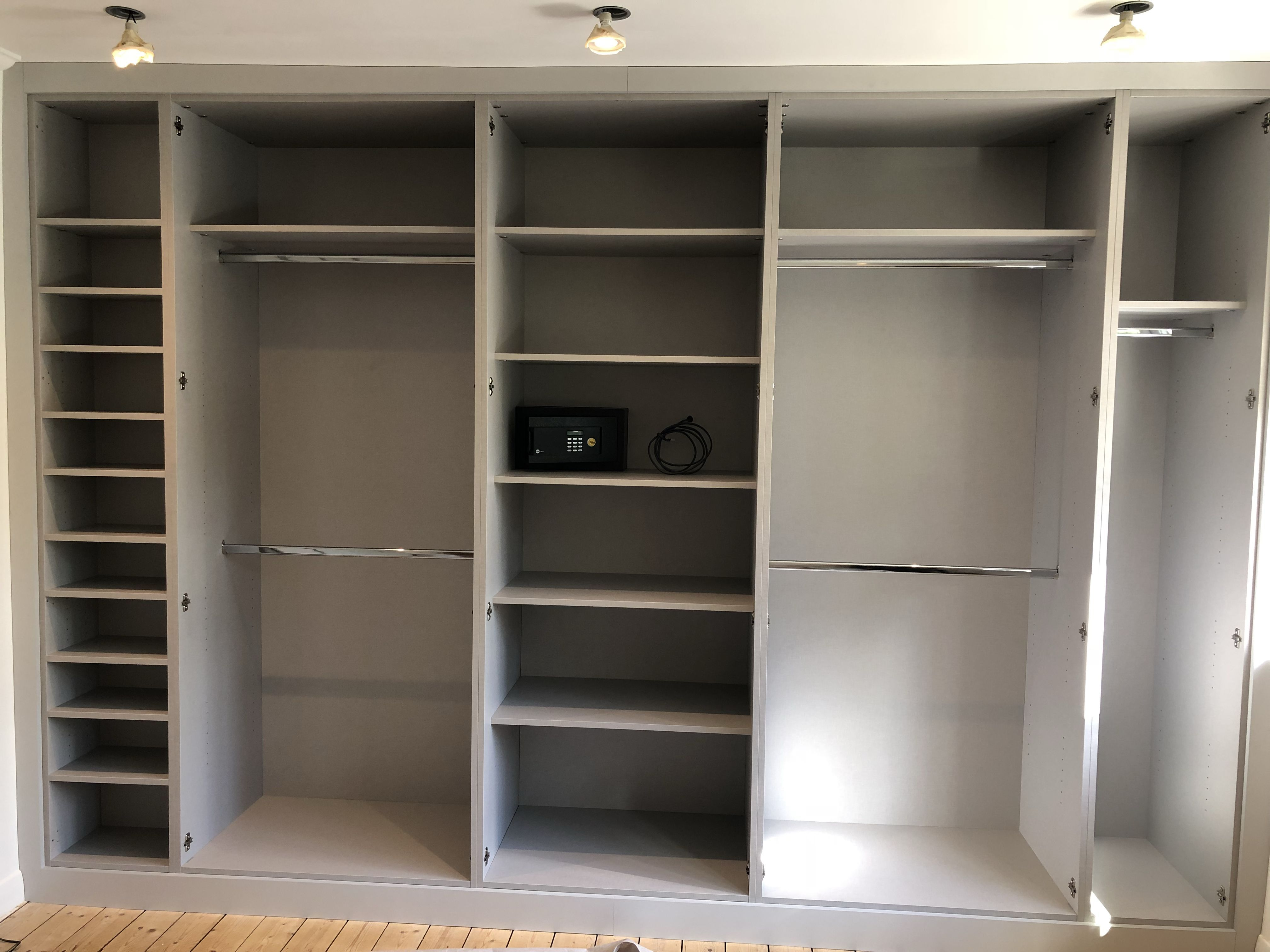 These Fitted Wardrobe Interiors Cater For All Needs Shoe Shelves