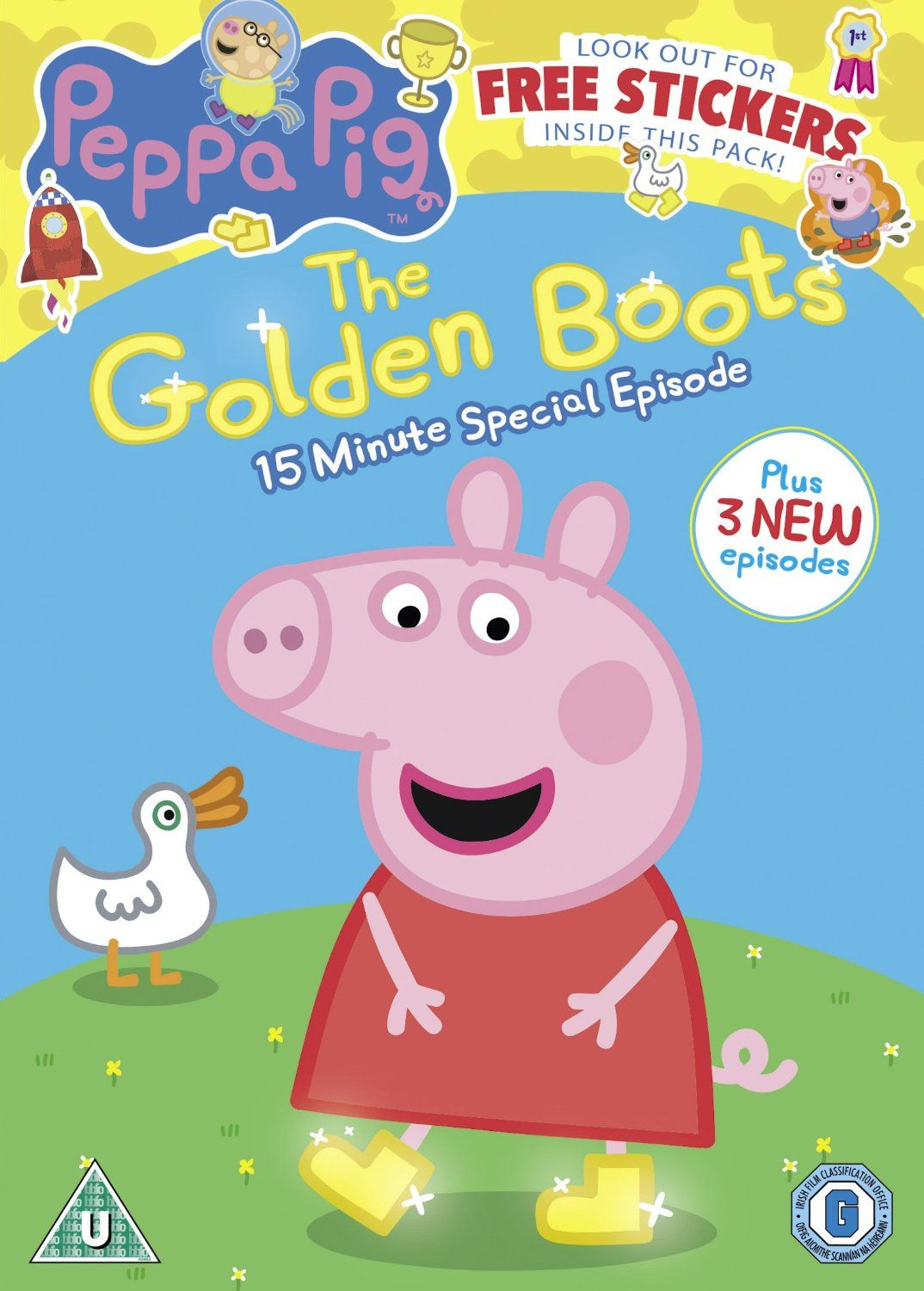 Peppa Pig The Golden Boots Will Be Released On Dvd On Monday 20th