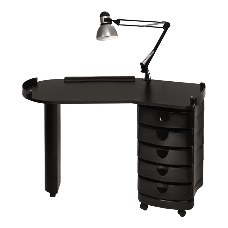Zorro Nail Table Portable Manicure Table Nail Salon Equipment Salon Furniture