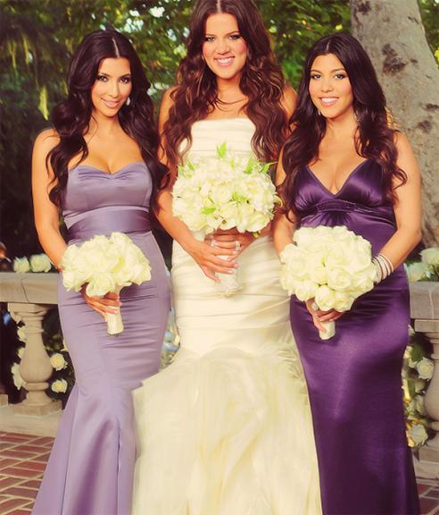 Khloe S Wedding 3 Kim Kardashian Wedding Kardashian Wedding Bridesmaid