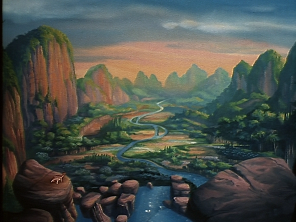 The Land Before Time Produced By George Lucas Steven Spielberg