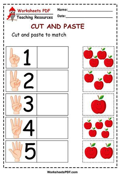 Pin On Anabeth Cutting worksheets for kindergarten pdf