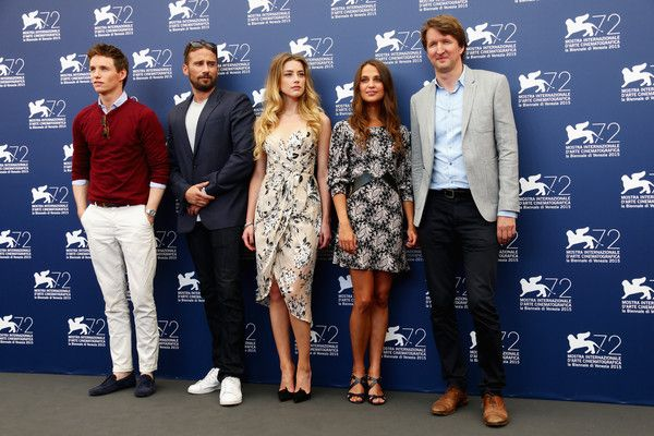 'The Danish Girl' Photocall - 72nd Venice Film Festival