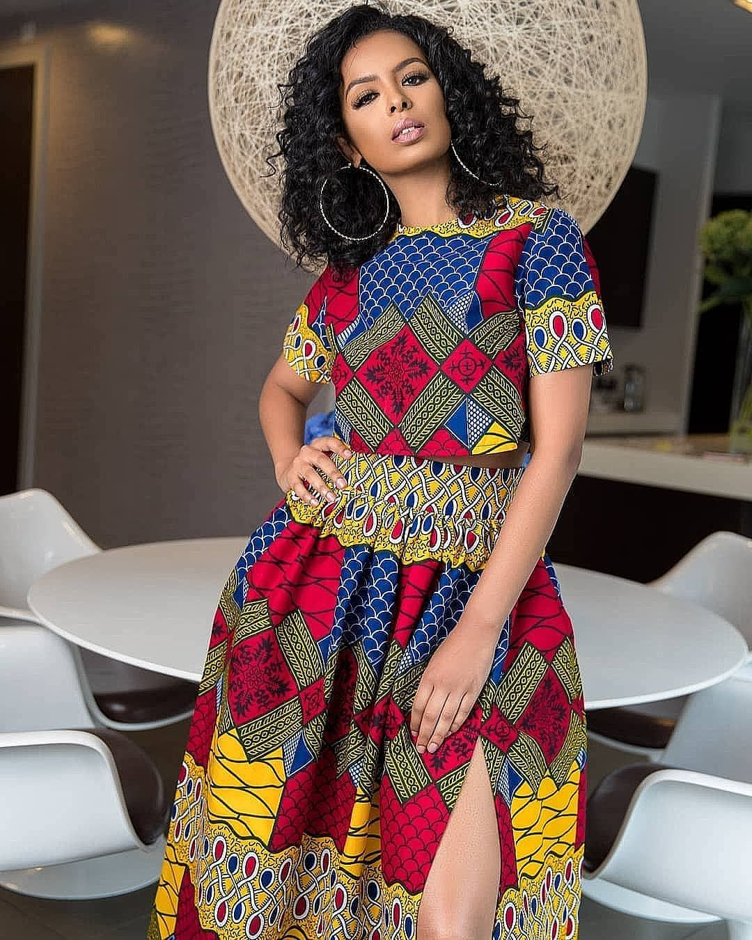 50 African Dress Designs and Patterns : Beautiful Creative Fashion Styles #africandressstyles